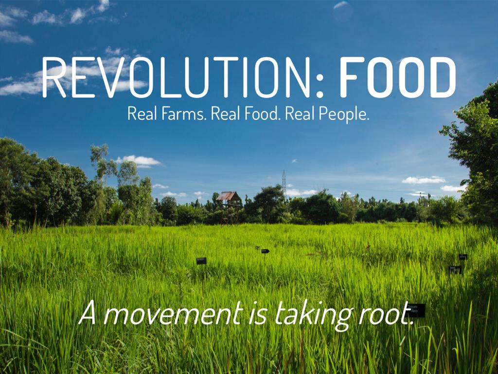 food system revolution