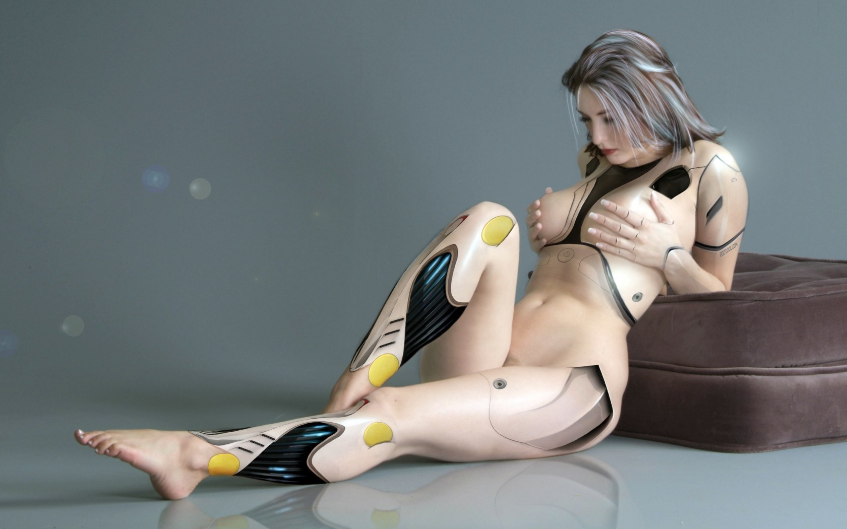 Honey naked cyber women — photo 12